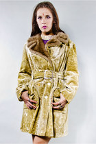 faux fur coat Tunnel Vision coat