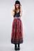 printed midi vintage skirt