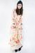 floral print vintage dress