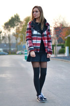 Zara shoes - Zara jacket - Mexx skirt