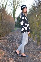 H&M blouse - Zara flats