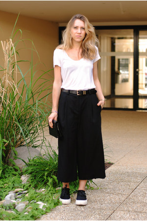black culottes & other stories pants - black Eytys sneakers