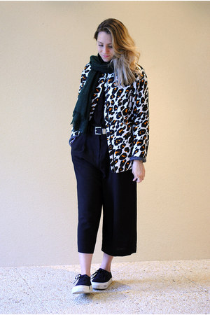 black culottes & other stories pants
