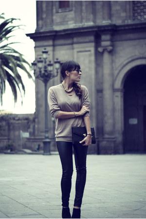Zara Man sweater - leader BLANCO pants