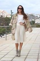 ivory Primark skirt - off white H&M jumper