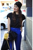 Isabeletta hat - Forever21 top - Mango pants