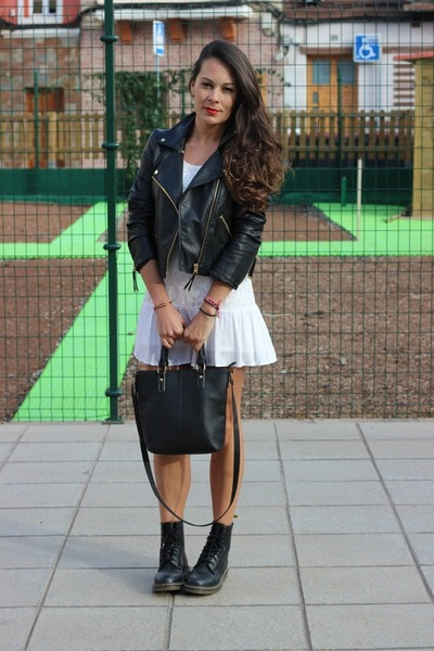 Forever21-dress-mango-jacket