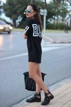 Zara boots - Bershka swimwear