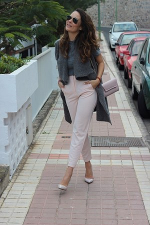 Zara pants - H&M vest