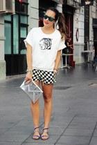 Zara sweater - Zara shorts