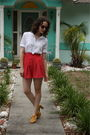 Brown-thrifted-sunglasses-white-thrifted-blouse-red-httpstoresebaycomtwitchv