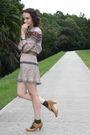 Beige-httpstoresebaycomtwitchvintage-dress-beige-thrifted-belt-green-hue-soc