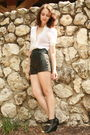 White-vintage-blouse-black-vintage-shorts-silver-rings-accessories-black-d