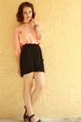 Pink-httpstoresebaycomtwitchvintage-blouse-black-target-skirt-black-zara-sho