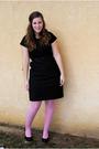 Black-target-dress-pink-betsey-johnson-tights-black-thrifted-belt-black-bc