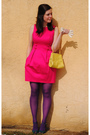 Pink-dillards-dress-purple-steve-madden-tights-blue-bitten-by-sjp-shoes-ye