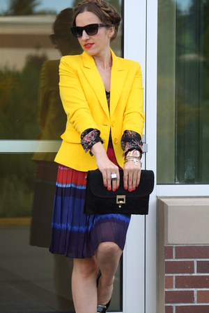 gibson jacket - elle skirt - Steven pumps