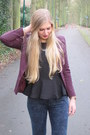 Black-peplum-h-m-trend-top-black-h-m-shoes-skinny-primark-jeans