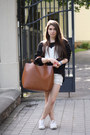 White-converse-shoes-black-inlovewithfashion-sweater-ivory-oasapcom-shorts