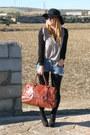 Nc-primark-shoes-diy-mango-jeans-nc-primark-hat-old-zara-bag