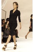 black Dolce and Gabbana skirt - black Dolce and Gabbana blouse