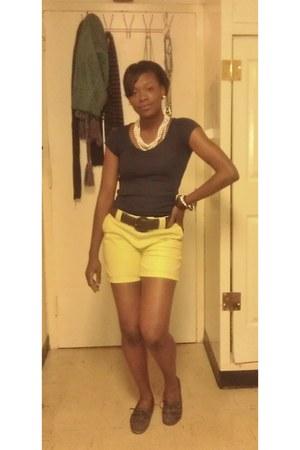 Thrift Store shirt - Thrift Store shorts - Thrift Store belt