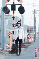 Sheinside jacket - GU jeans - Marc by Marc Jacobs bag - zeroUV sunglasses