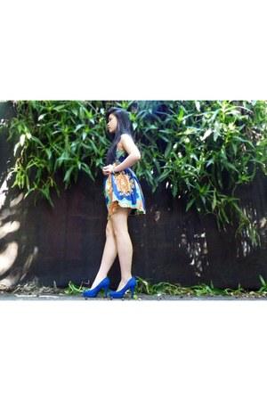 blue heels new look heels