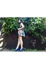 Blue-heels-new-look-heels