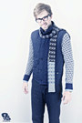 Navy-matinique-jacket-silver-matinique-sweater-sky-blue-scotch-soda-shirt