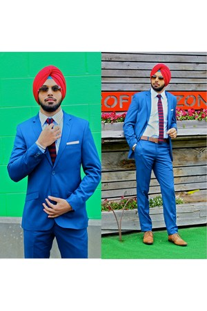 Topman suit - Aldo shoes - Ray Ban glasses