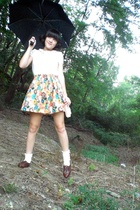 Richard Chai for Target shirt - handmade skirt - Salvation Army shoes - handmade