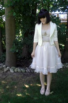 Forever21 blazer - Lost and Found Vintage skirt - ForLove21 necklace - made by e