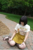 Hot Topic shirt - American Apparel skirt - Ebay shoes