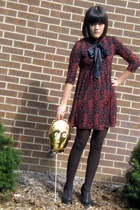 Forever21 dress - We Love Colors tights - Hot Topic shoes