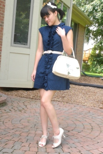 Go Collection For Target dress - Lost and Found Vintage purse - Nine West shoes