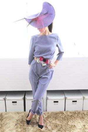 light purple Boüret suit