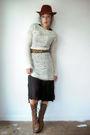 White-vintage-sweater-black-vintage-from-viral-threads-dress-brown-dr-marten