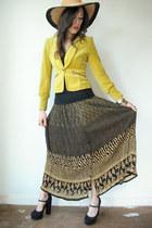starfruit blazer - Viral Threads Vintage skirt - platform Forever 21 heels