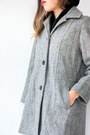 Heather-gray-herringbone-vintage-coat-black-turtleneck-american-apparel-shirt