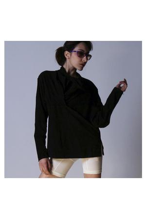 black Issey Miyake sweater