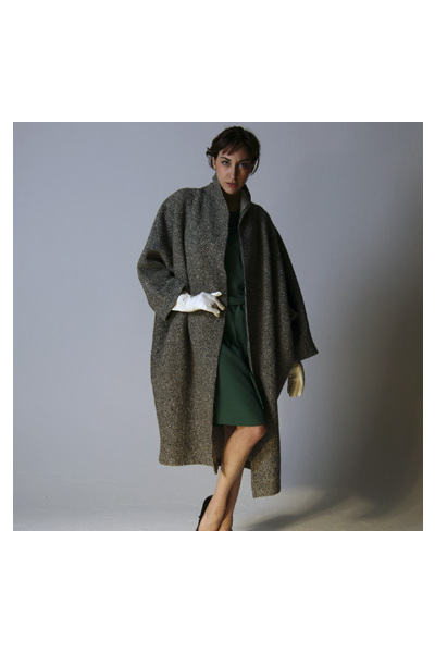 silver unknown coat