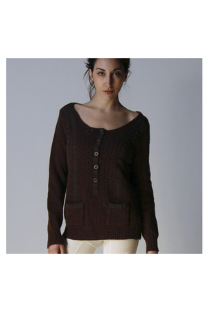 brown Chloe sweater