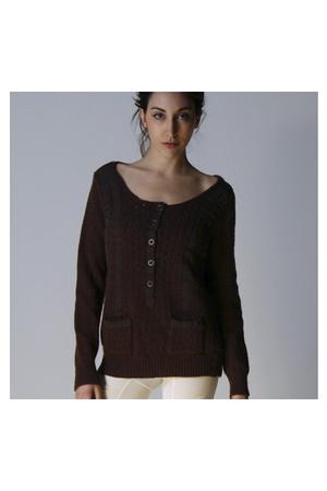 brown Chloe sweater
