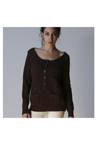Brown-chloe-sweater