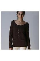 Brown-chloe-sweater