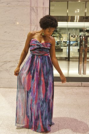laundry dress - Zara heels