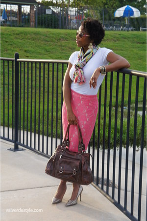 H&M skirt - H&M scarf