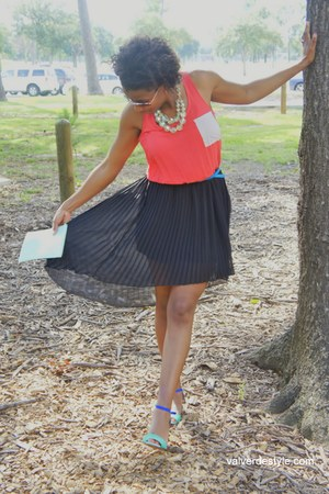 Langford Market dress - Zara heels - H&M accessories