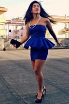 Zara dress - Donnapi bag - Guess heels - no brand necklace